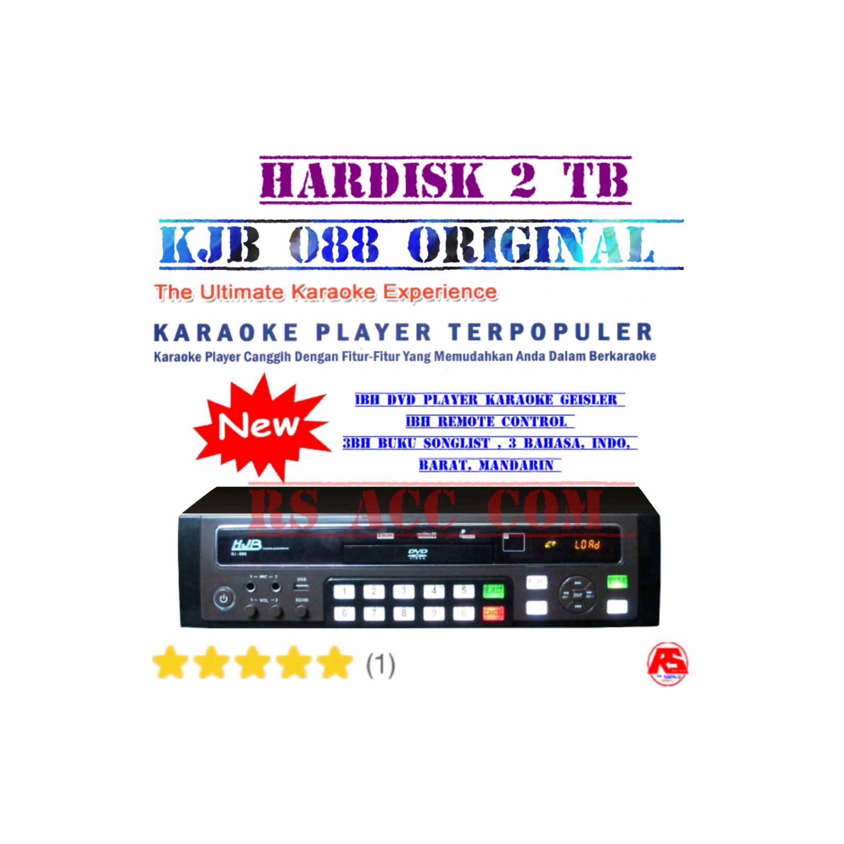 Dvd Super Karaoke Kjb 088 Hardisk 2Tb Isi Full Lagu