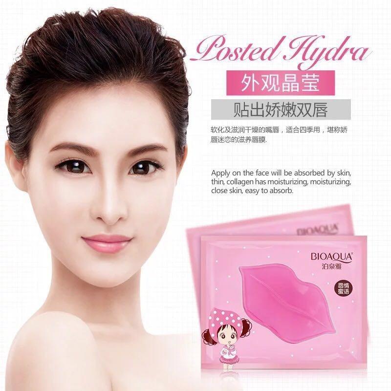 Bioaqua Collagen Nourish Lip Mask Masker Bibir Pink Bio Aqua Original Pelembab Bibir