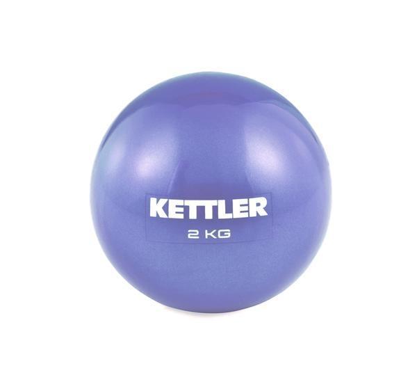 JUAL KETTLER TONING BALL 2KG PURPLE  Alat Fitnes Murah