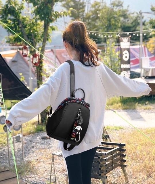 Detail Gambar Tas Ransel Backpack ABG Remaja Wanita Import Korea New Model CS-LV 01