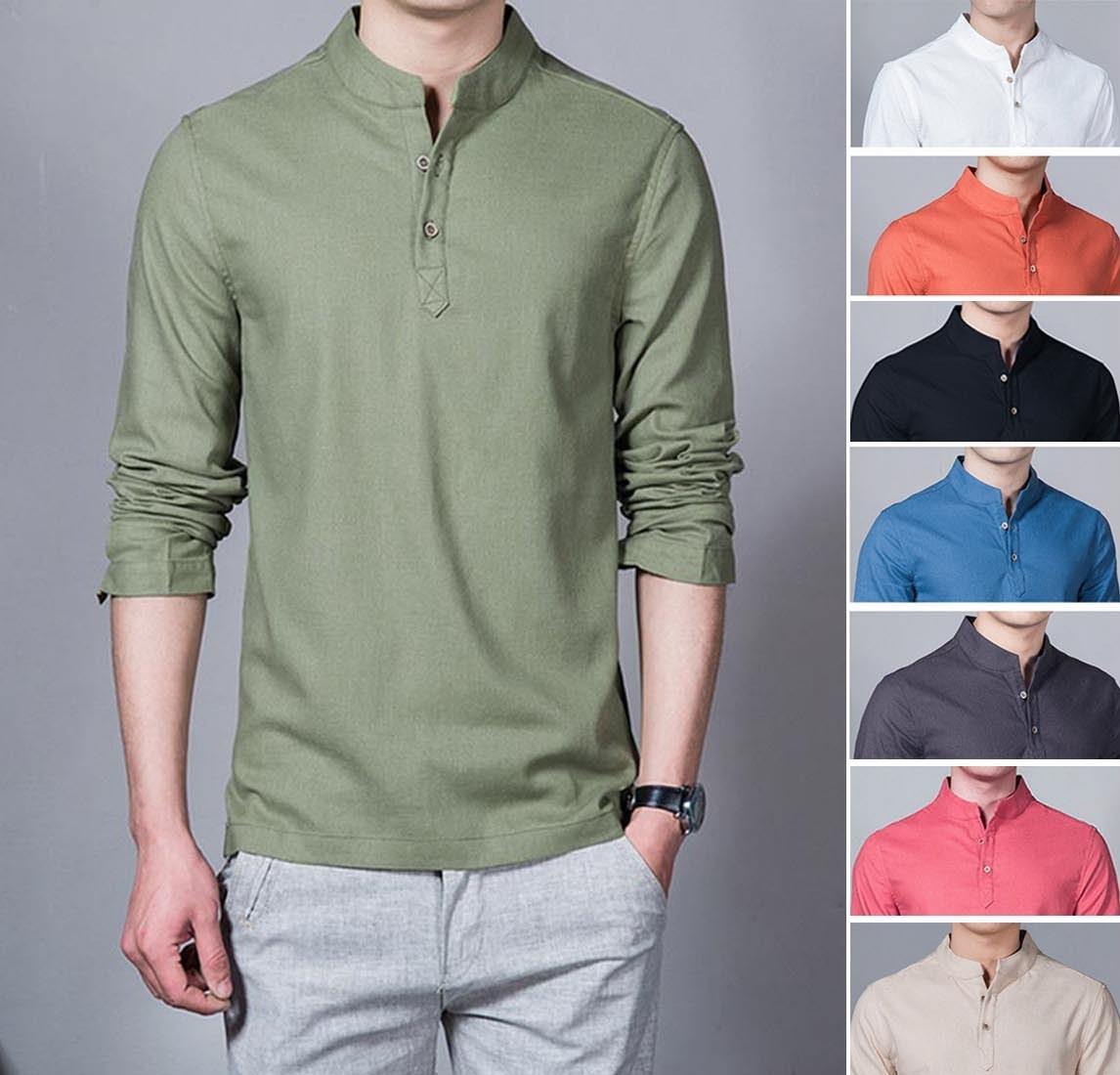 Baju Kemeja Koko Shaquile Hitam Polos. Kemeja Muslim Pria Murah Diskon. Tersedia 8 Warna Pilihan