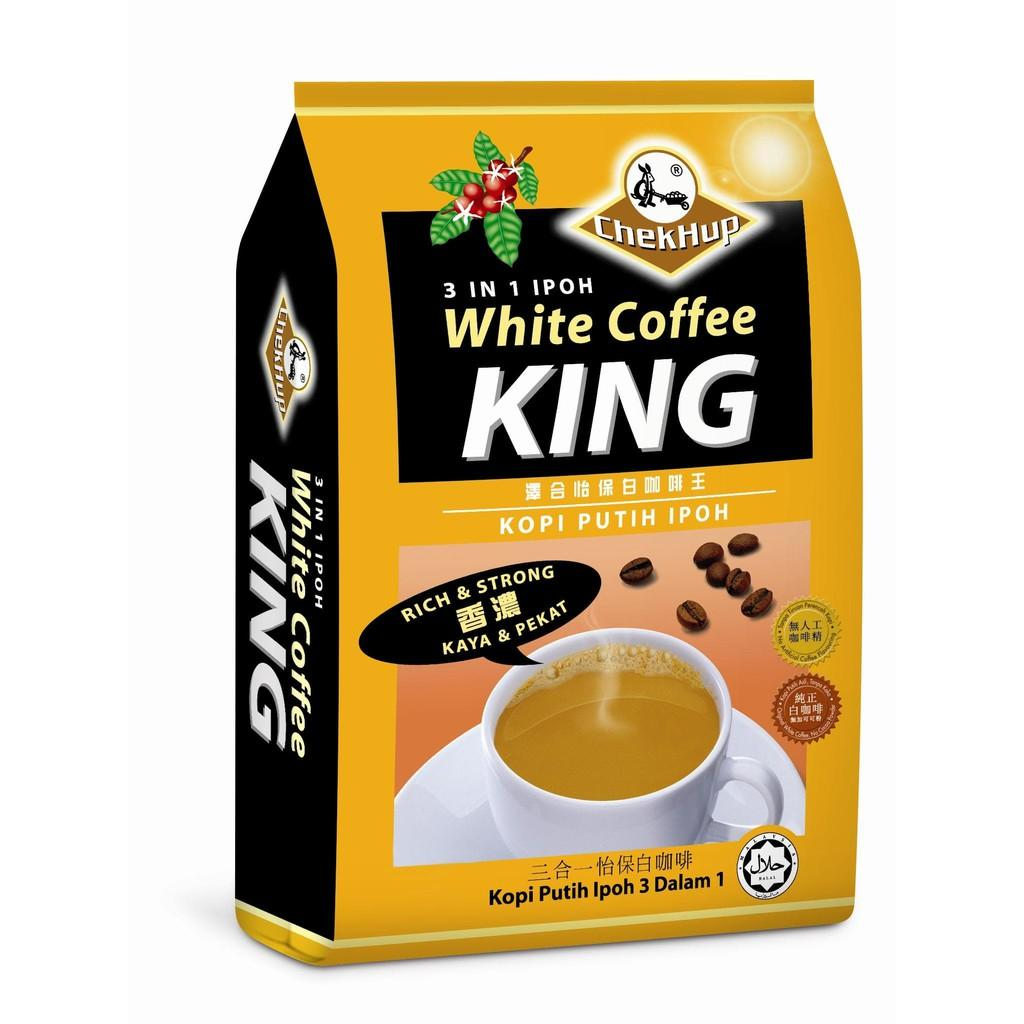 Chek Hup 3 In 1 Ipoh White Coffee King / Kopi Chekhup 3In1