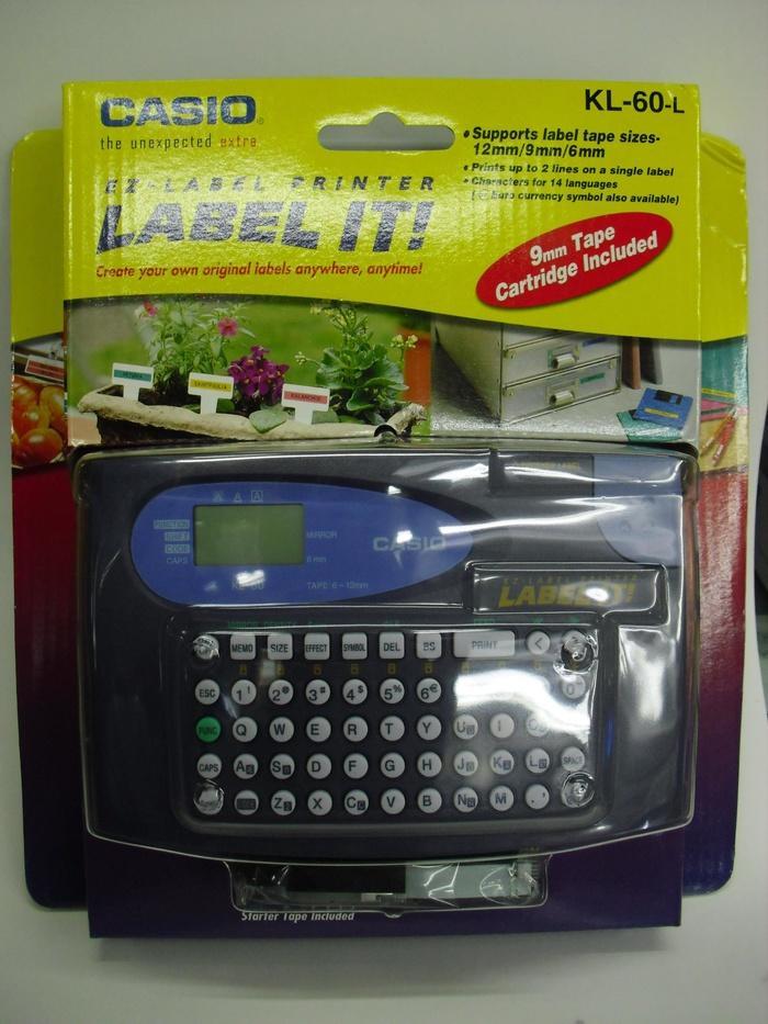 ORIGINAL - Jual Casio KL 60 Print Label Printer