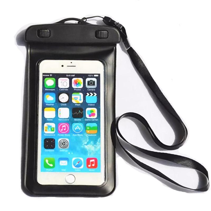 BlueTech Mobile Phone Waterproff Bag - Hitam