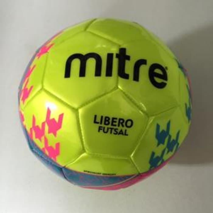 f3f614690b Mitre Libero Size 4. Bola Futsal Jahit. 2 Pilihan Warna