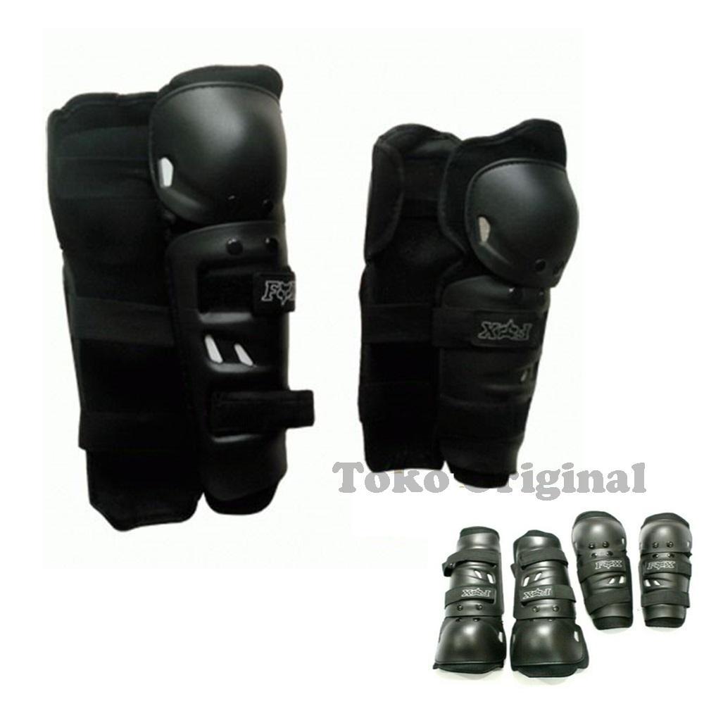 Decker Fox Standard - Pelindung / Protector Siku Tangan dan Lutut Kaki Untuk Touring Dan Trail
