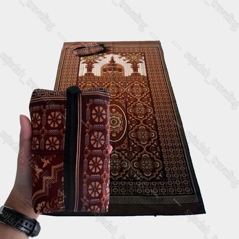 Sajadah turki sajadah murah seri masjid coklat
