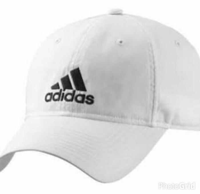 Topi / Cap / Hat Flexfit / Flex Fitted ADIDAS - Putih Terlaris di Lazada