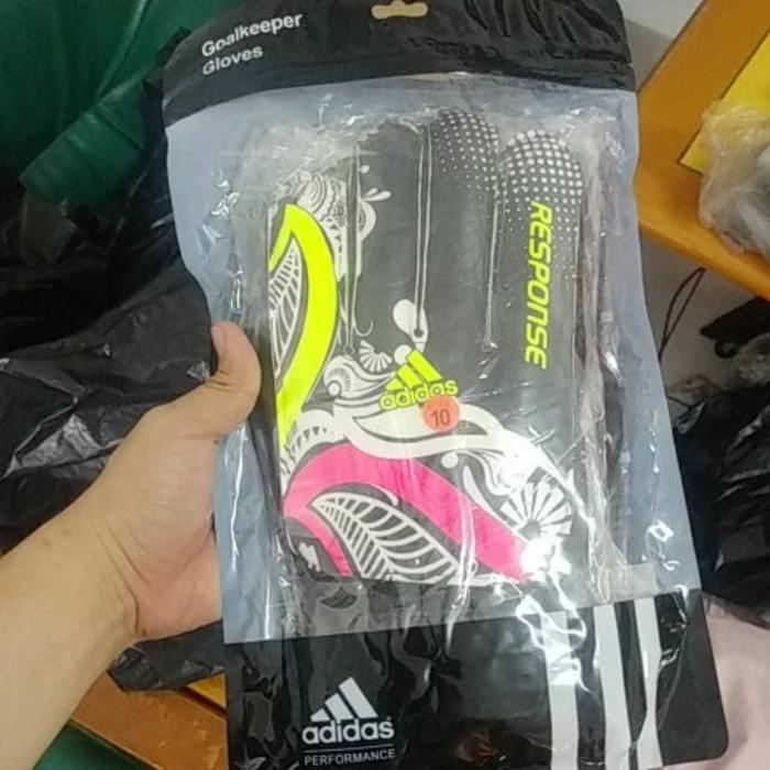 Sarung tangan kiper Adidas FIngersave Tulang