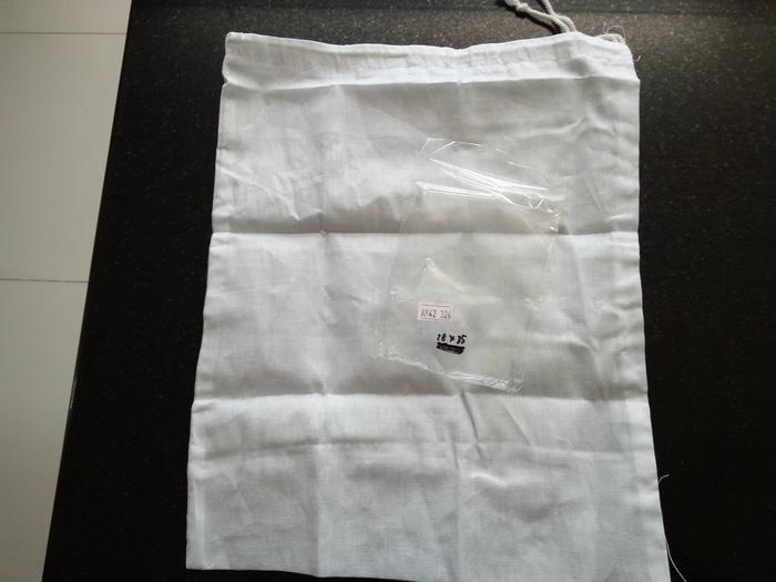 saringan kain bahan blacu untuk kopi teh ukuran 28 x 35 cm