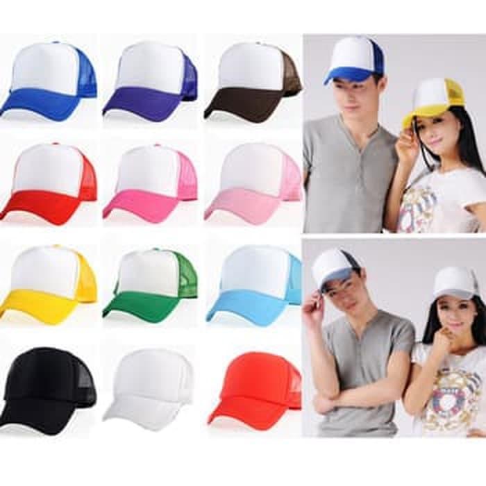 topi polos custom nama dan logo Terlaris di Lazada