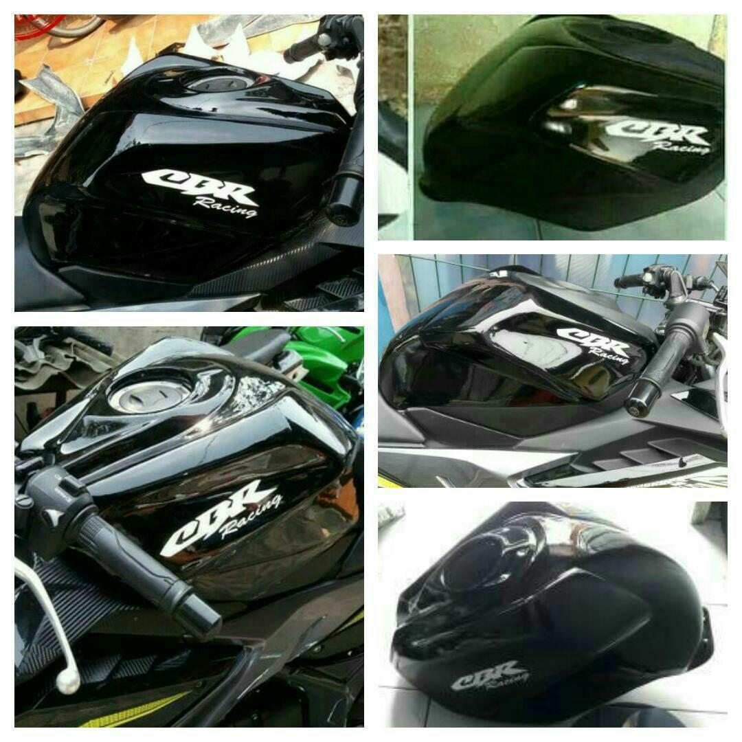 Kondom Tangki CBR New Facelift 150cc Model 250cc Hitam ( Cek Stok Sebelum Beli )