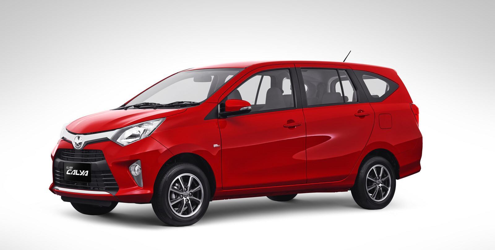 Detail Gambar Talang Air Mobil Toyota CALYA + FREE Talang Spion Terbaru