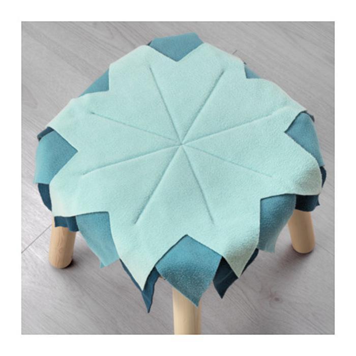 IKEA LATTJO Alas kursi, biru