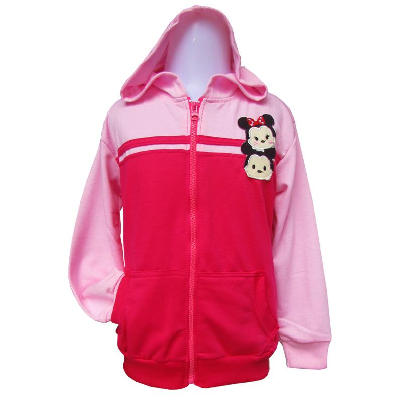 Jaket Sweater Anak Karakter Tsum-Tsum Couple Usia 6-10 Tahun