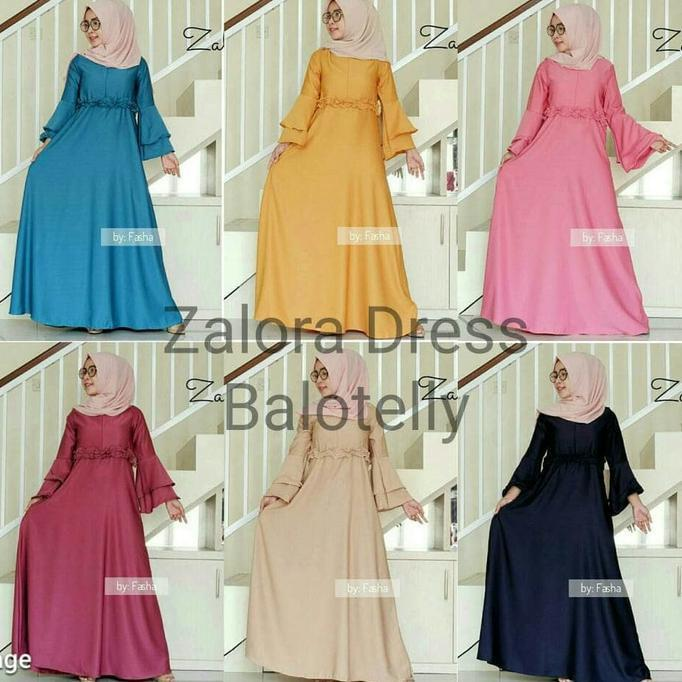 Gamis Polos Busui / Hijab Murah : Zalora Dress  Ghtsyh