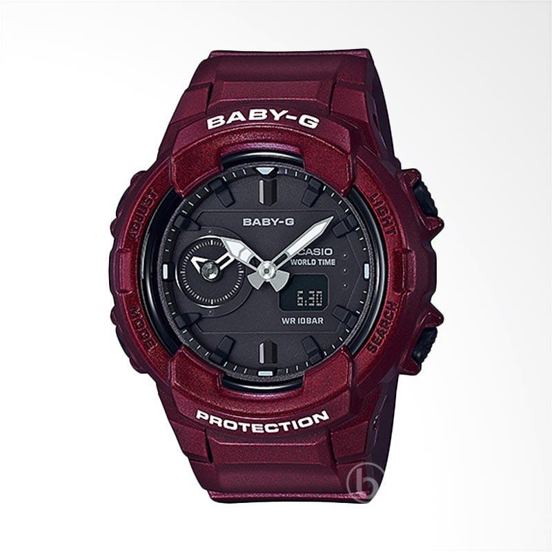 Casio Baby G BGA-230S-4A Sports Limited Edition Jam Tangan Wanita - Metallic Red