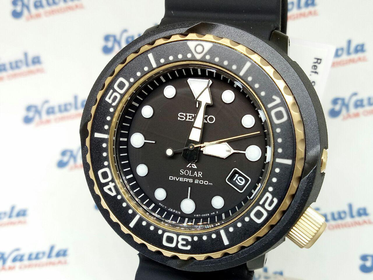 Fitur Seiko Prospex Sne498p1 Solar Tuna Black Gold Jam Tangan Pria Ssc347p1 Sky Chronograph Blue Dial Stainless Sne498 4