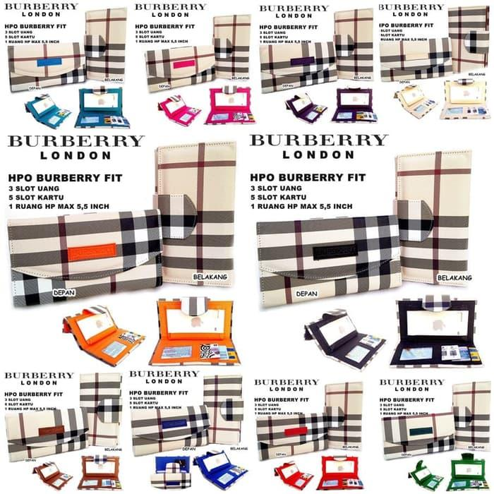 PROMO!!! DOMPET WANITA BURBERRY CLAY LIGHT - eV8x31