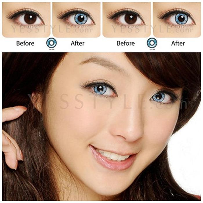 Promo Acessoris Warna Mata  Softlens Geo Anime Cosplay CP-A4 14Mm