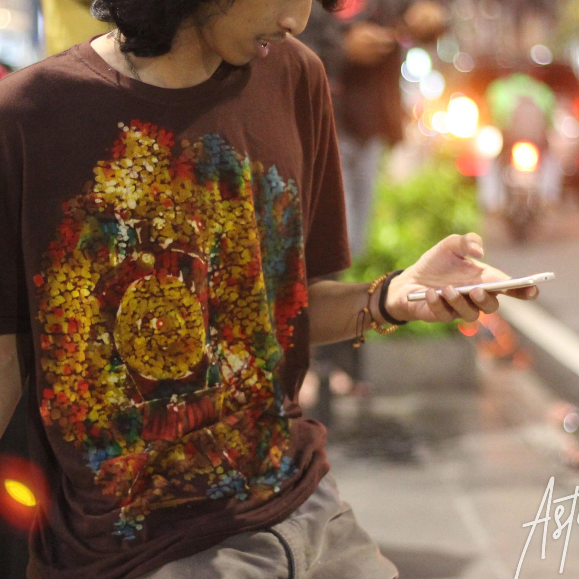 Kaos Batik Lukis Tangan Sepur astowongso KBL-006