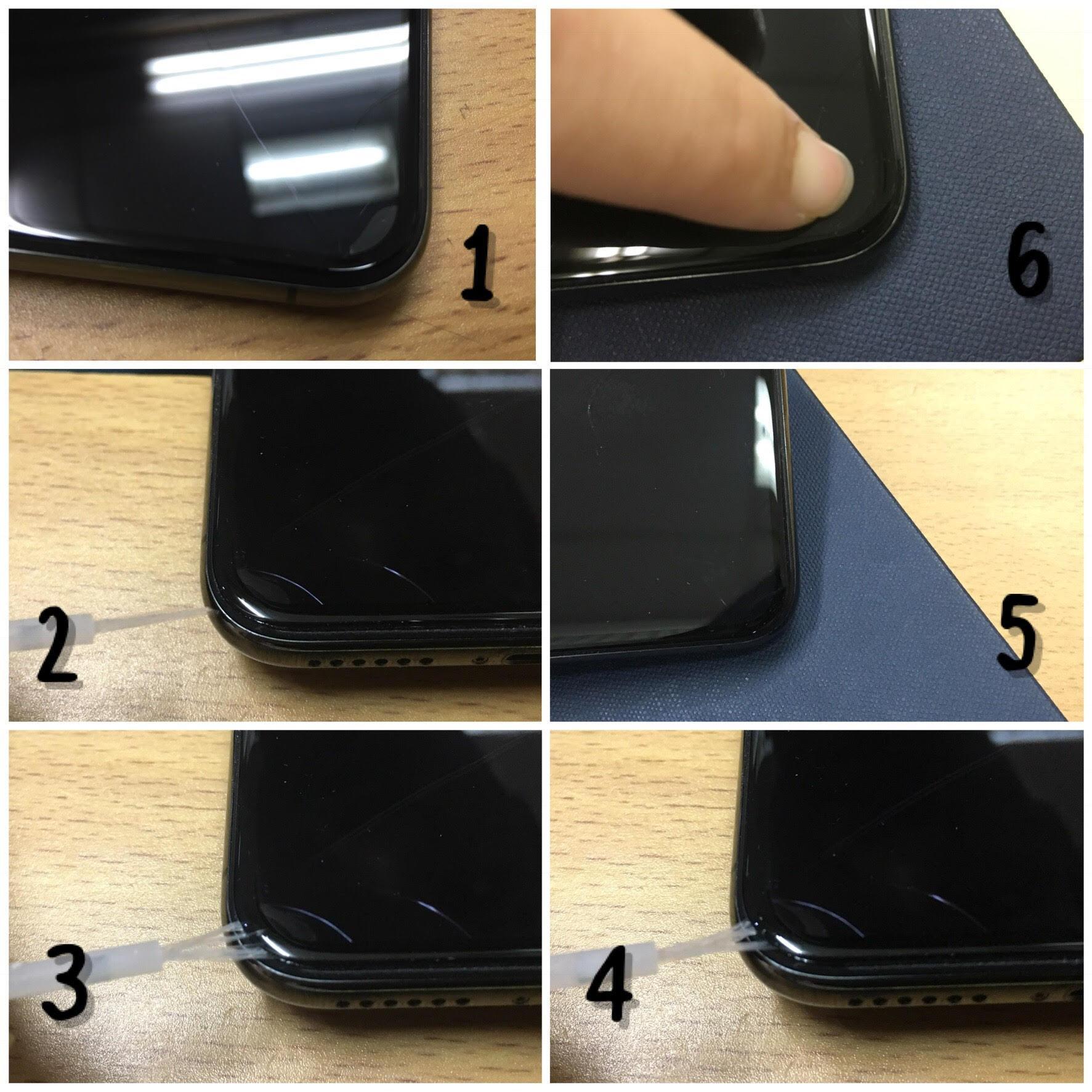 CASA Tempered Glass 5D for Vivo V9 - FULL LEM & FULL SCREEN [Black]