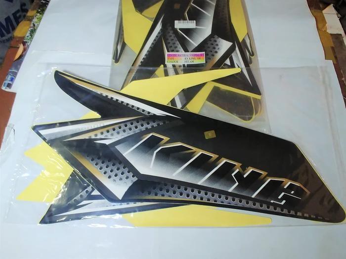 Stiker Bodi & Lis Body & Striping Rxking New 2008 Hitam