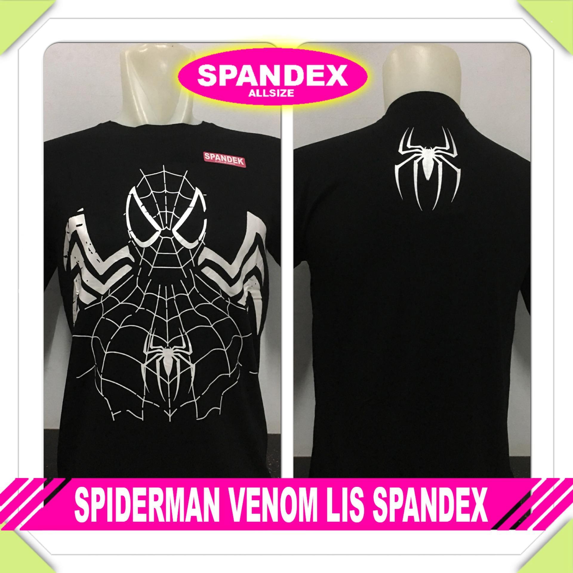 Gracestore - Kaos T-shirt Distro Premium Venom - Hitam