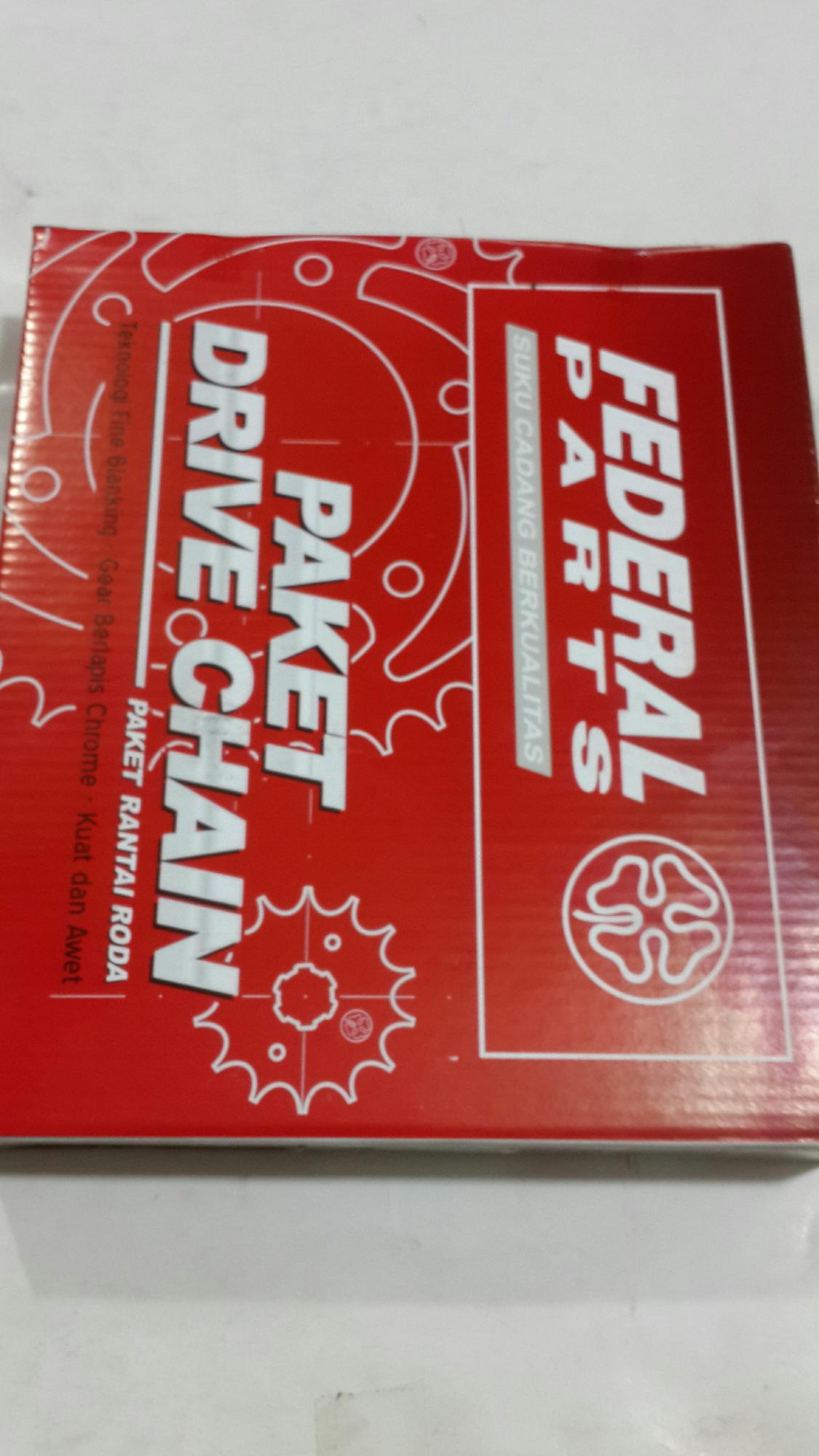Gearset new mega pro verza cb 150r paket drive chain federal