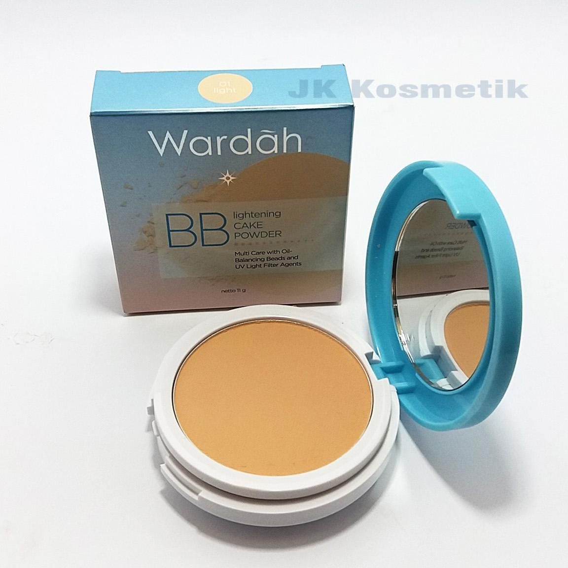 Cek Harga Baru Wardah Lightening Bb Cake Powder 01 Light Terkini Twc Exclusive Bedak Padat Recommended