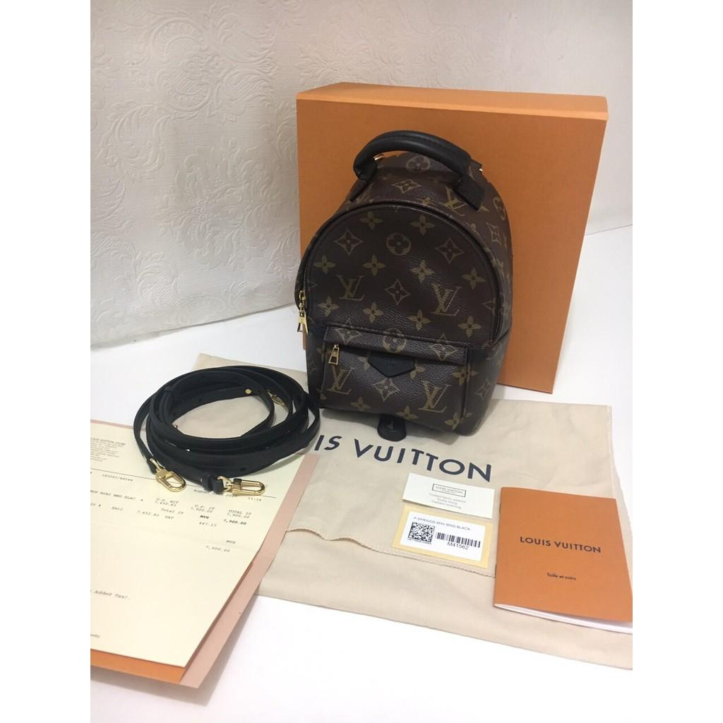 Louis Vuitton Palmsprings Backpack Mini