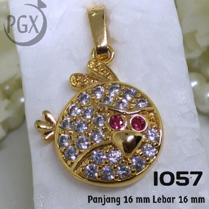 Ofashion Aksesoris Kalung XX CA 1702K023 Modern Necklace Accessories Panjang 54 Cm Emas .