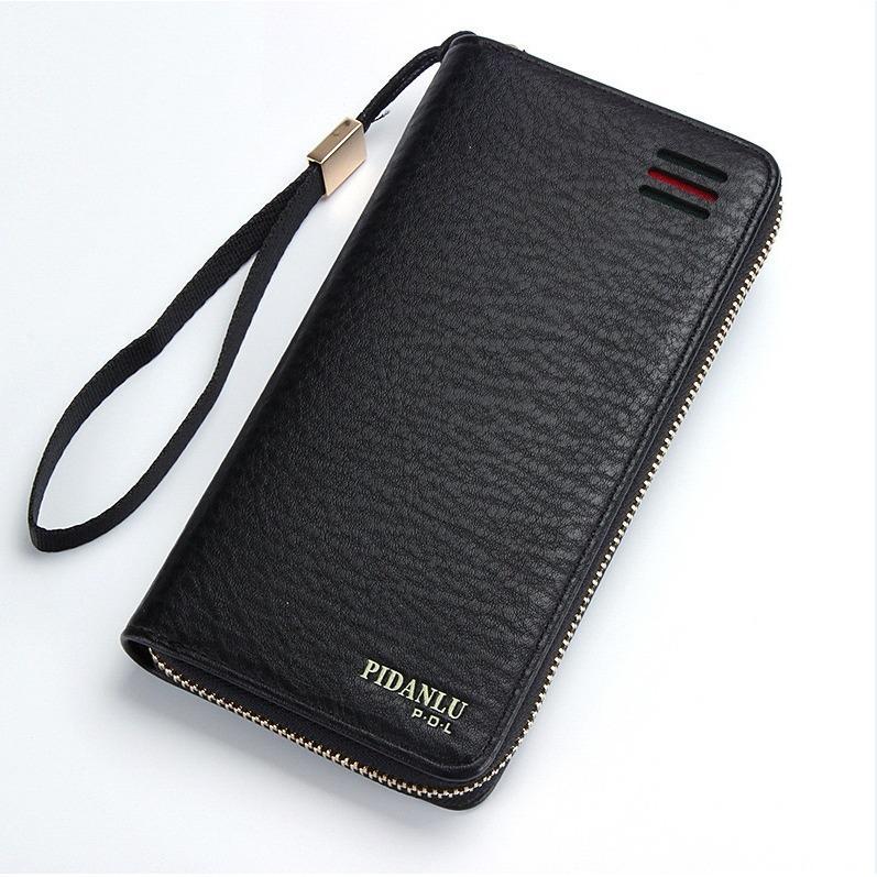 [PROMO AKBAR !!] Dompet Kulit Eksekutif IMPOR PIDANLU #2581 Mens Womens Unisex Long Leather Wallet