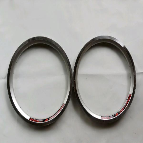 Litepro K-fun Rims 14 Inch 20 Hole Double Wall - Rims Sepeda Lipat - Rim Litepro Harga Sepasang Warna Hitam