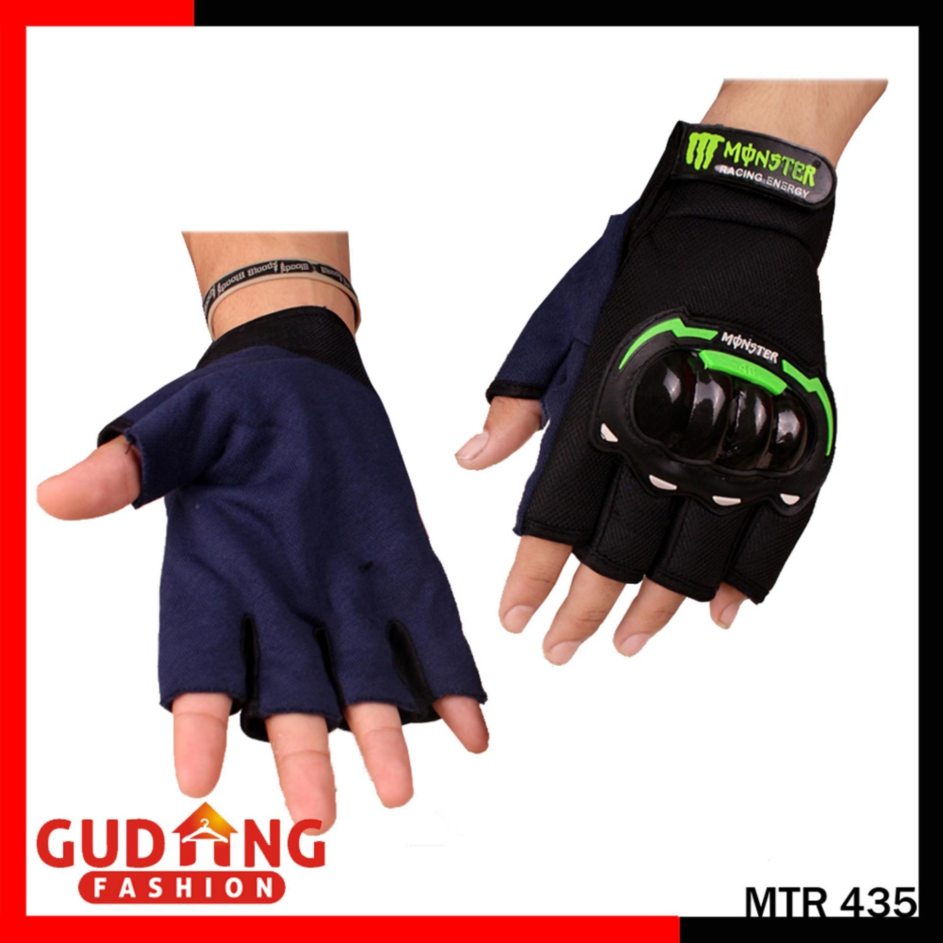 Gudang Fashion - Sarung Tangan Batok Motor Pria - Hijau
