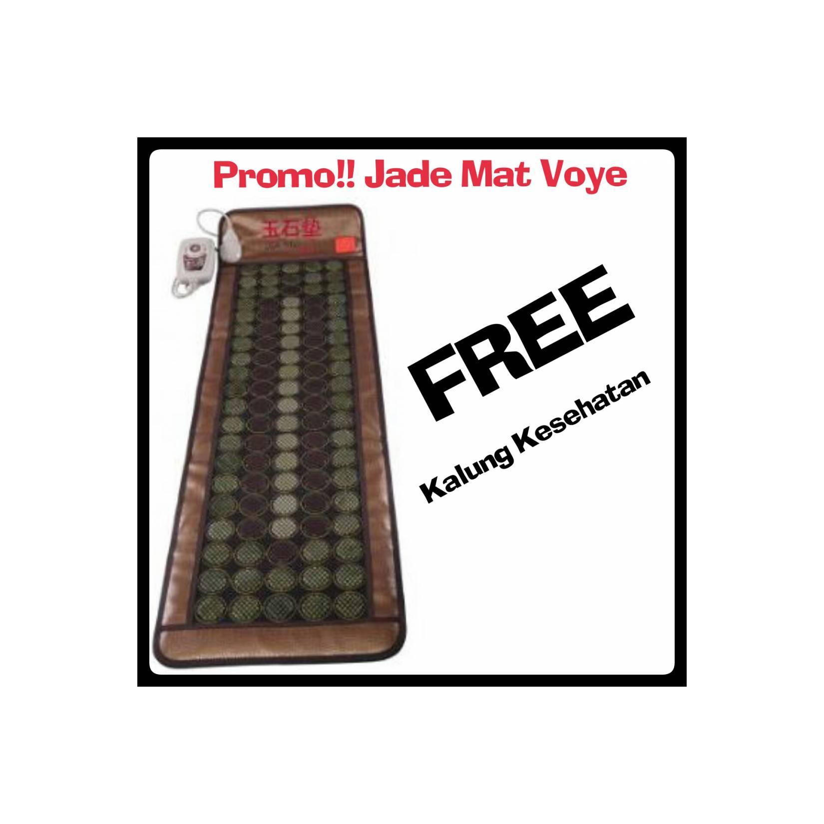 Jade Mat Voye Matras Terapi Kesehatan Daftar Harga Terlengkap Kasur Mengandung Batu Tourmaline Free Kalung Kesehatanidr4318400 Rp 4318