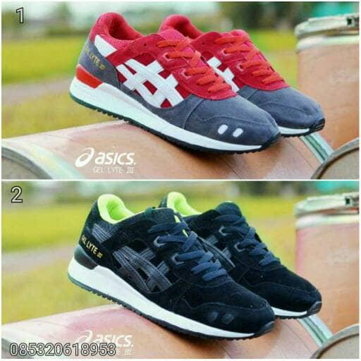Promo Sepatu Asic Gel Lyte III Men Import Fashion