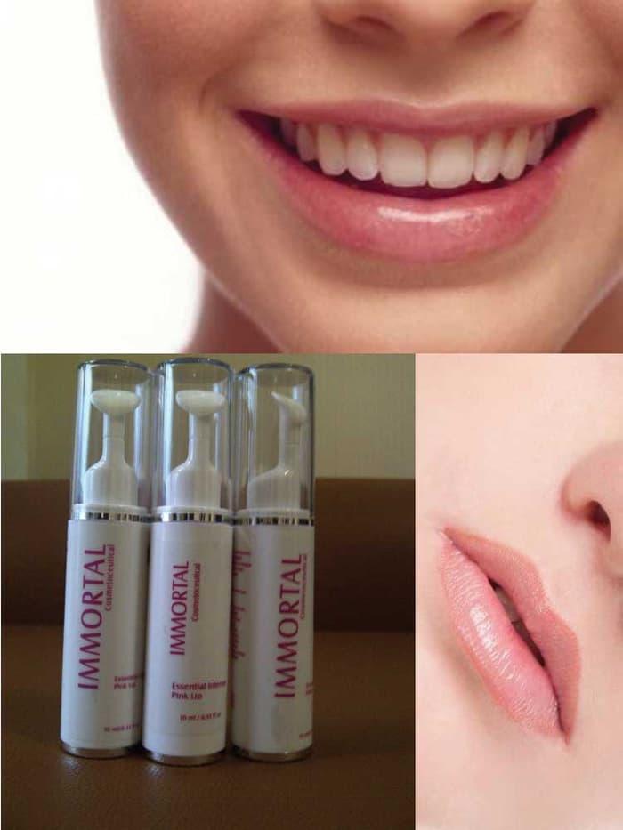 Pemerah Bibir Immortal Essential Intense Pink Lip - Pemerah bibir kemasan baru Immortal .