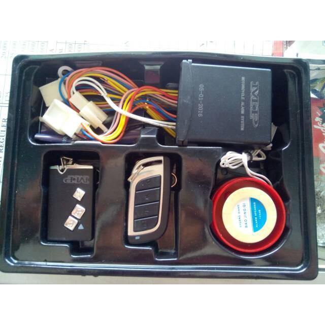 Alarm Mp One Way   Bonus Panduan Pemasangan Sesuai Motor Anda T1801