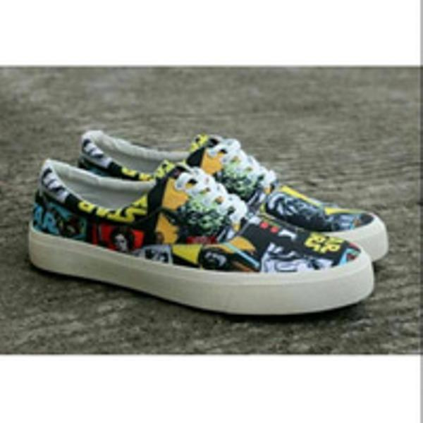 Promo Sepatu Vans starwars sneakers pria Kets Casual Fashion