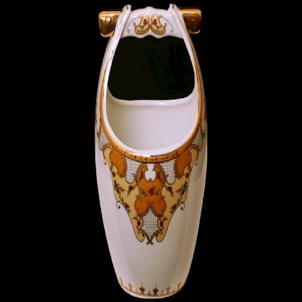 Vicenza Tempat Sendok Keramik Motif Camelia (B-625) Murah