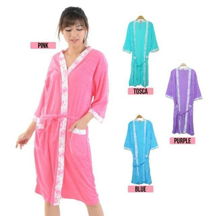 Handuk Mandi Model Piyama All Size (Ukuran Standart) Atau Kimono Handuk Untuk Wanita - Multifungsi
