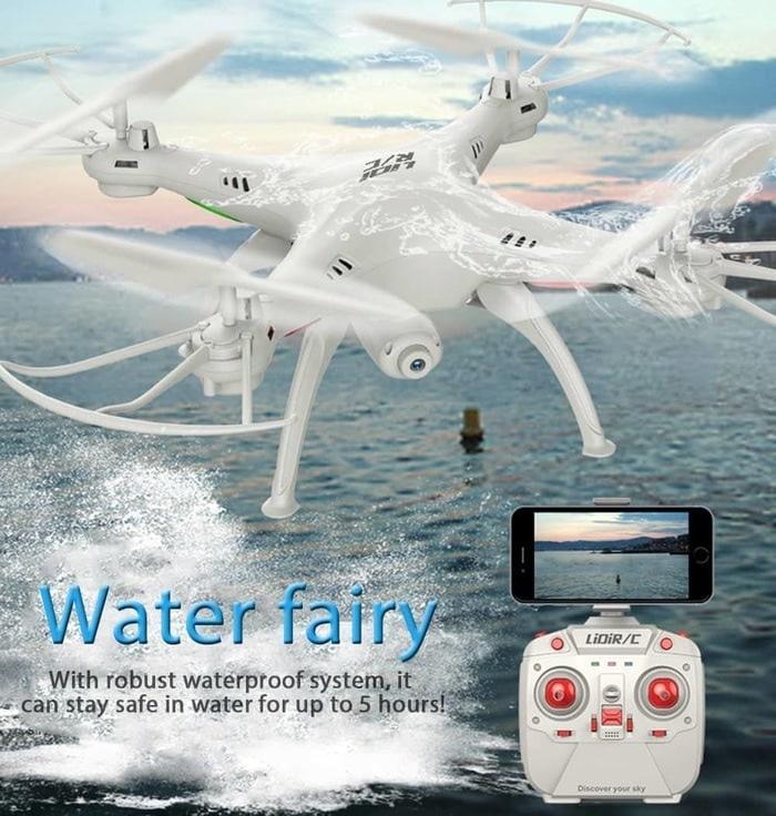 Drone canggih L15FW Wifi FPV 6-Axis Camera Waterproof terbaru murah