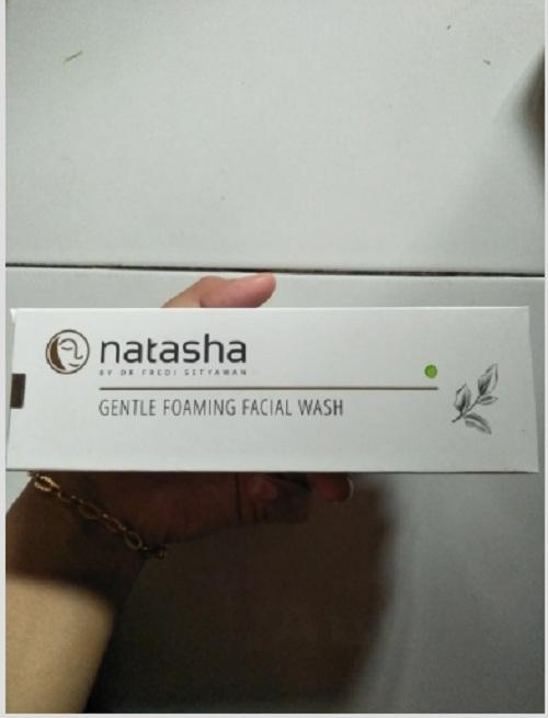 Natasha gentle facial wash
