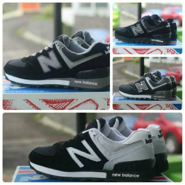 Sepatu Senam , New Balance 574 Woman , Aerobik Sneakers Jogging Wanita Murah Olahraga Gaya Gaul Lari