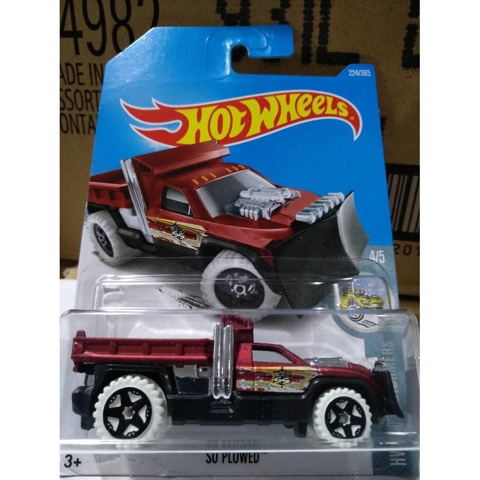 A0138-Hot Wheels / Hotwheels-So Plowed-Merah - U69ubk