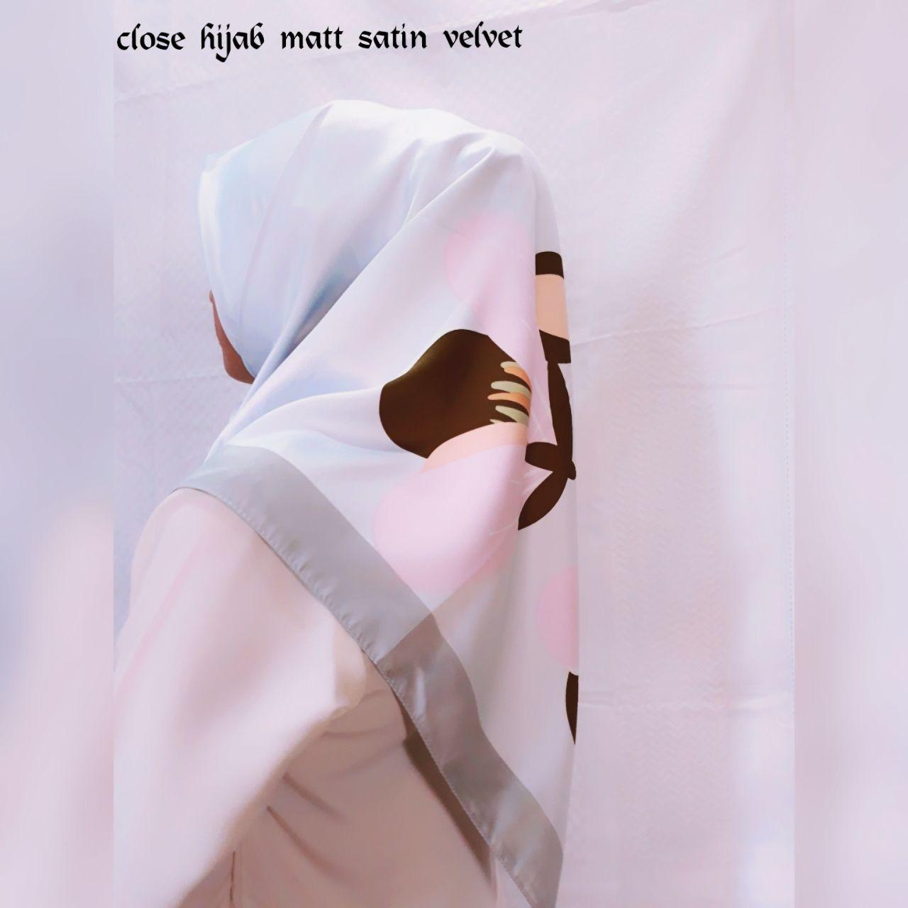 Fitur Jilbab Segiempat Velvet Flow 01 Dan Harga Terbaru Katalog Detail Gambar Terkini