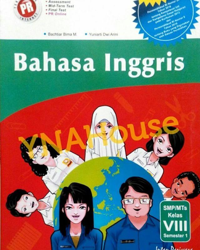 Buku PR Inggris Kelas VIII/8 Semester 1 K-13 Intan pariwara