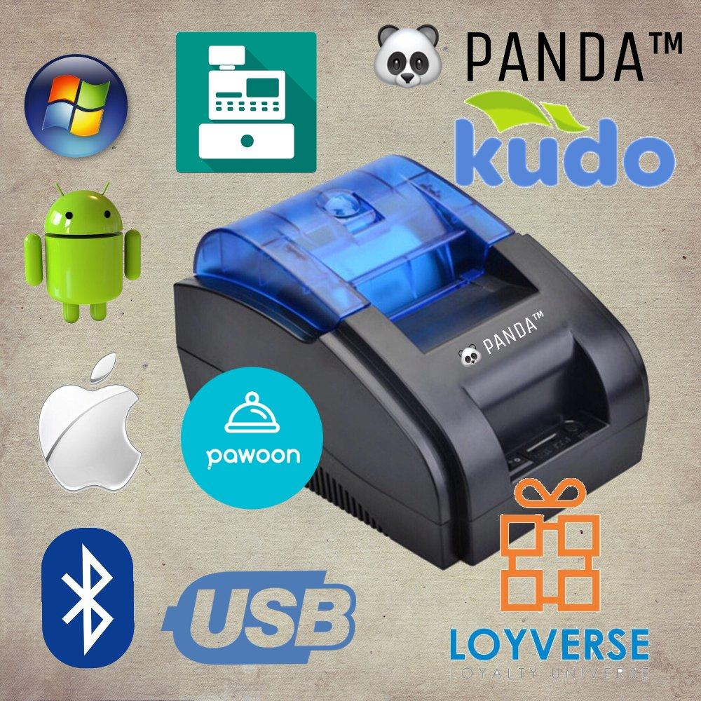 TERLARIS PRINTER KASIR-STRUK BLUETOOTH KERTAS 58MM PANDA PRJ-58D ADA CASH DRAWER-LACI RJ11 PORT SUPPORT ANDROID-IOS-WINDOWS BISA CETAK PPOB BTN-PAYTREN-DLL