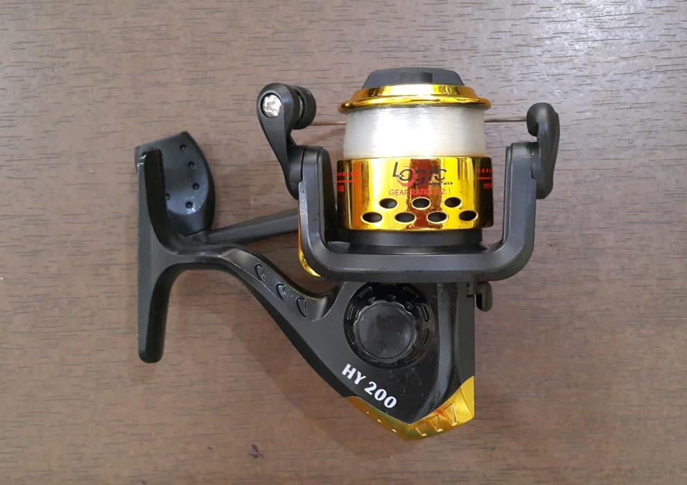 Reel Logic Horey HY200 6bb 6 Ball Bearing Fishing Tackle Alat Pancing
